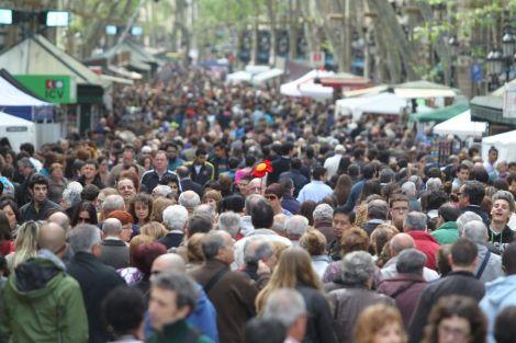 Barcelona. Sant Jordi. April 23rd. Books. 'Nuff said.